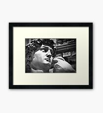 the David, Florence Tuscany Framed Print