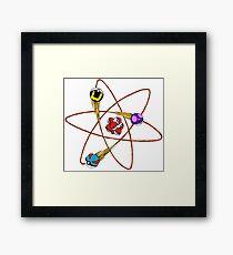 pokemon atom  Framed Print