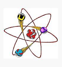 pokemon atom  Photographic Print