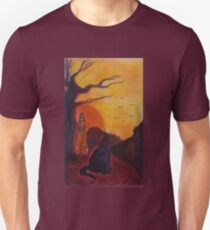 The weary travelers survey the road ahead Unisex T-Shirt
