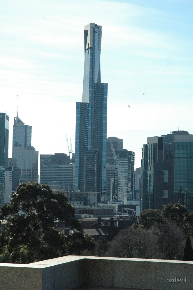Eureka Tower Melbourne by ozdevil
