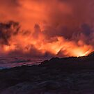 Lava Flow on Hawaii by Bruce Alexander
