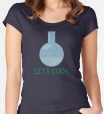 Let's Cook Women's Fitted Scoop T-Shirt