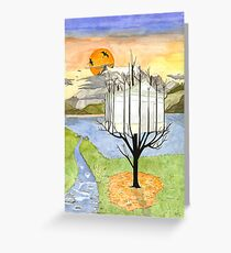 Harvest of a Glasshouse Greeting Card