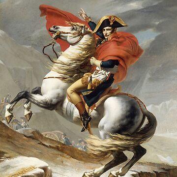 Bonaparte - The Emperor Napoleon - Jacques Louis David by maryedenoa