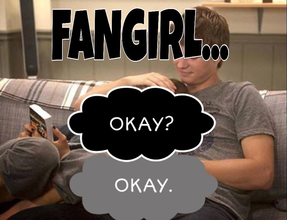 The fault in our stars fangirl by CharlieBayum