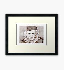 William Hartnell Framed Print