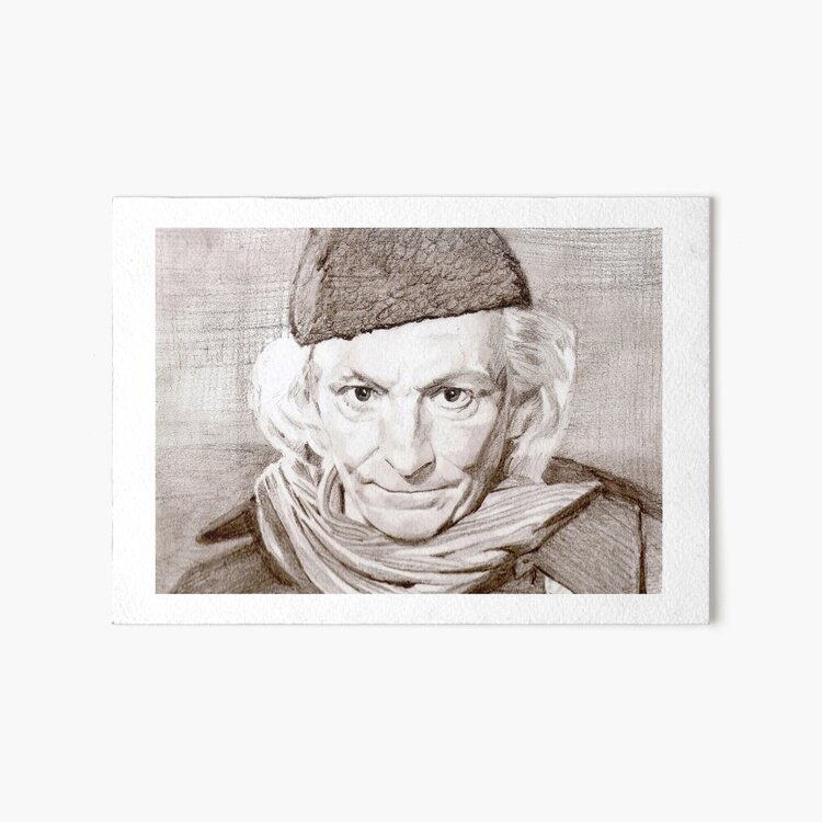 William Hartnell Art Board Print