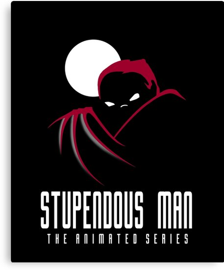 Stupendous Man The Animated Series by ApgarArts