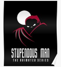 Stupendous Man The Animated Series Poster