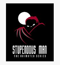 Stupendous Man The Animated Series Photographic Print