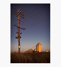 dooen silos Photographic Print