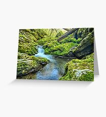 Moine Bend Greeting Card