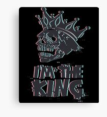 I'm The Skull King Canvas Print