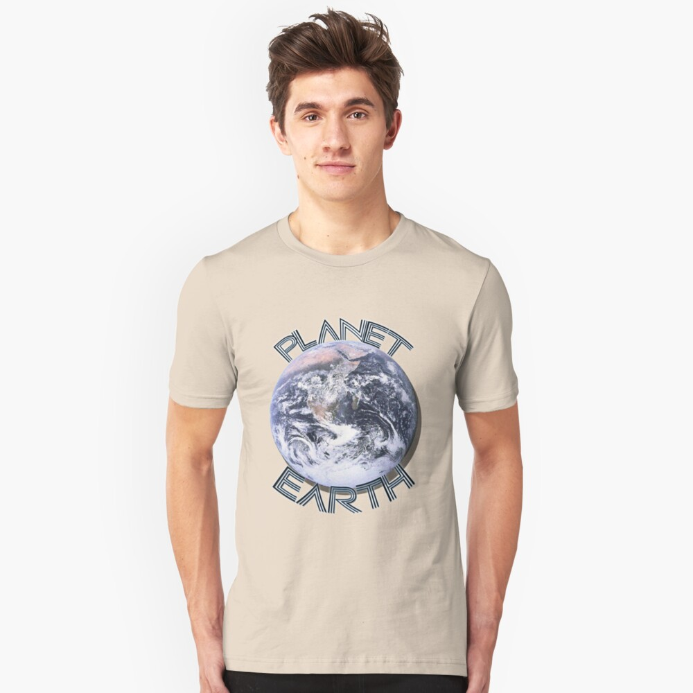 Planet Earth  Unisex T-Shirt Front