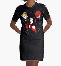 Hexe Mädchen T-Shirt Kleid