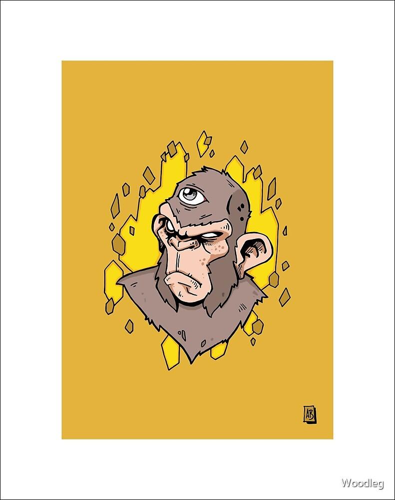 Bad Monkey by Woodleg