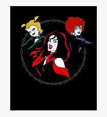 Hex Girls Photographic Print