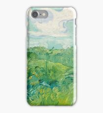 Vincent van Gogh Green Wheat Fields, Auvers 1890 Painting iPhone Case/Skin