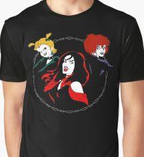 Hexe Mädchen Grafik T-Shirt