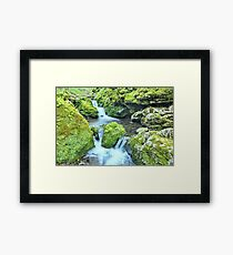 Water Tiers Framed Print