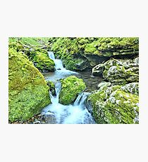 Water Tiers Photographic Print