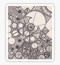 Circular Flaw Sticker