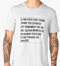 Joe Rogan Quote Print Men's Premium T-Shirt