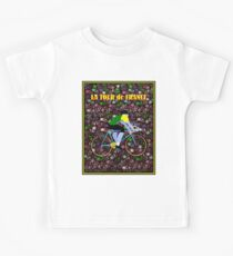 TOUR DE FRANCE: Modern Art Advertising Print Kids Tee