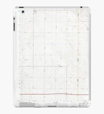 USGS TOPO Maps Iowa IA Bennett 20130403 TM iPad Case/Skin