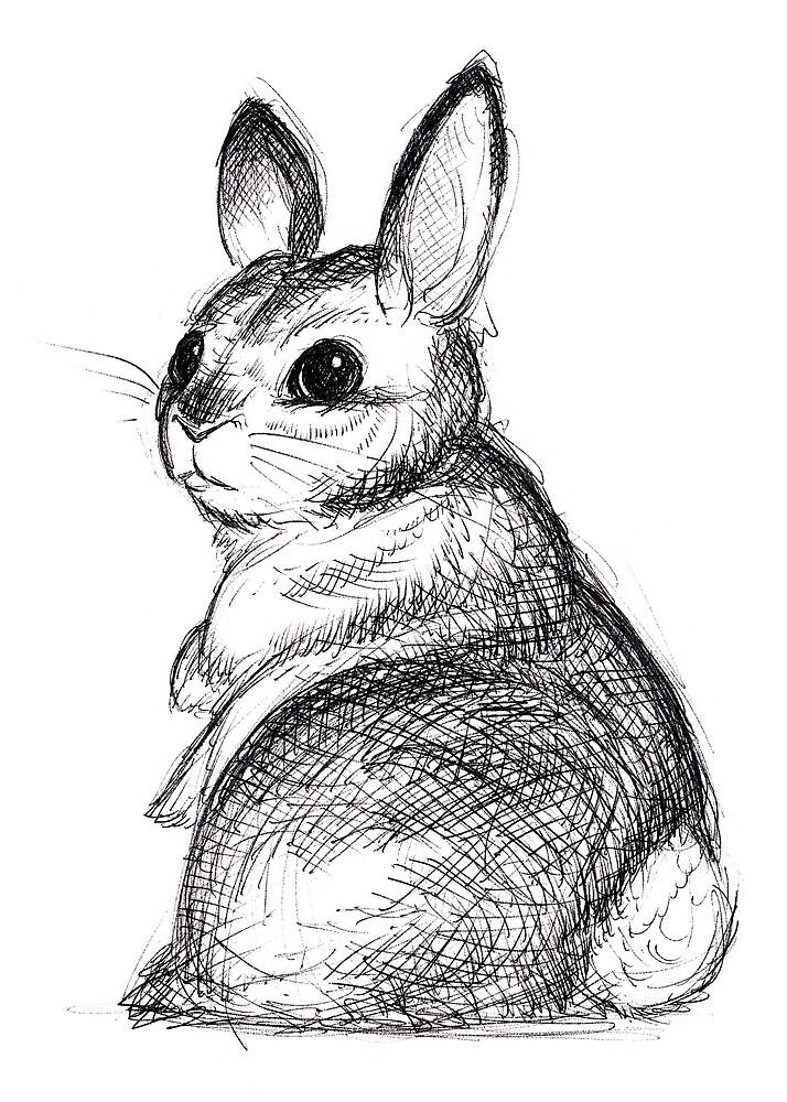 Ballpoint Bunny by JoJo Seames