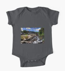 Tourists at the Falls One Piece - Short Sleeve