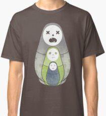 Zombie nesting dolls  Classic T-Shirt