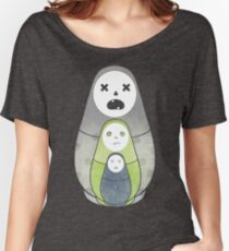Zombie nesting dolls  Women's Relaxed Fit T-Shirt