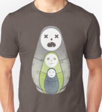 Zombie nesting dolls  Unisex T-Shirt