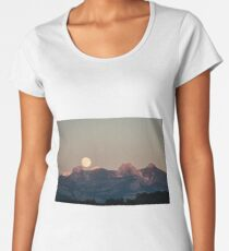 Sunset Landscape Women's Premium T-Shirt