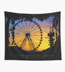 Ferris Wheel Wall Tapestry