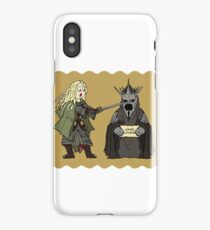 Fanart Eowyn and the Witch King iPhone Case