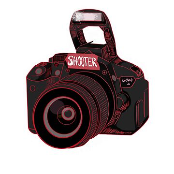 Camera Shooter Red by mO-Designs