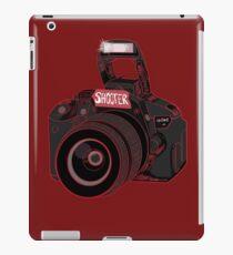 Camera Shooter Red iPad Case/Skin
