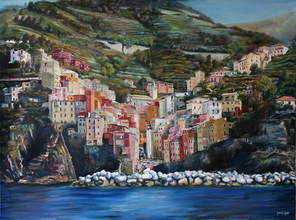 Riomaggiore Glory by Jennifer Lycke