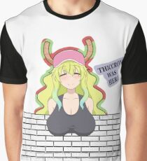 "Lucoa ""Thiccroy was here"" design Graphic T-Shirt"