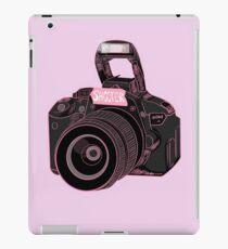 Camera Shooter Pink iPad Case/Skin