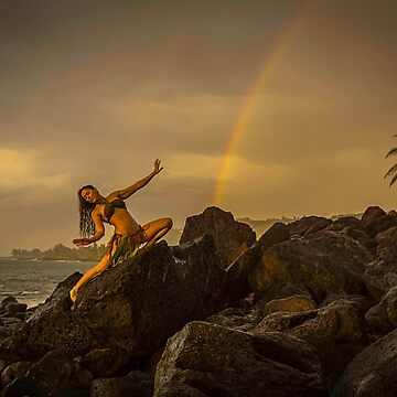 Rainbow Goddess Celebration by redmahan