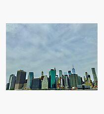 Brooklyn Bridge Park view Photographic Print