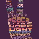 Peace tshirts by Karin Taylor