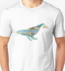 Baleen Whale Rainbow Beach Unisex T-Shirt