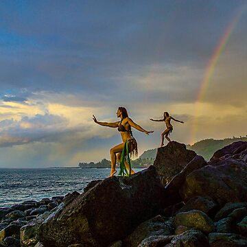 Dancing in the rainbow's end.... by redmahan