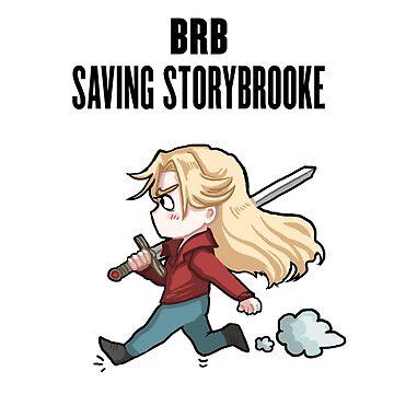 BRB - saving storybrooke by PompeiiAblaze