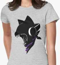 Monstercat Uncaged  Womens Fitted T-Shirt